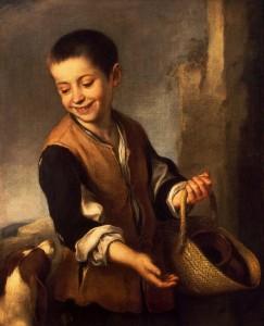 «Мальчик с собакой» Б. Мурильо