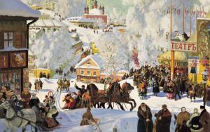 «Масленица» (1919 г) Б.Кустодиева