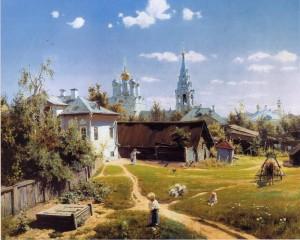 «Московский дворик» В.Поленова