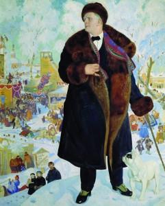 «Портрет Шаляпина» Б. Кустодиева