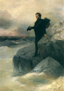 «Пушкин у моря» И.Айвазовского