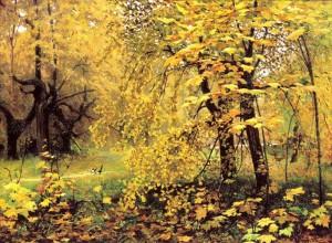 «Золотая осень» И.Остроухова