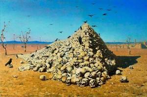 Апофеоз войны. Описание картины В.Верещагина