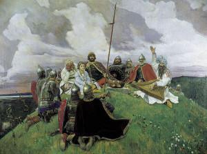 Баян. Сочинение по картине В.М. Васнецова