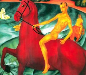 История создании картины «Купание красного коня»