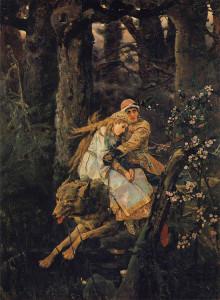 Иван-Царевич на Сером волке. Сочинение по картине Васнецова