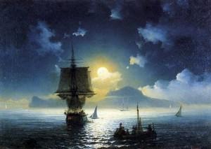 Лунная ночь на Капри