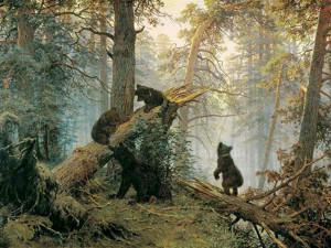 Мишки. Сочинение по картине И.Шишкина