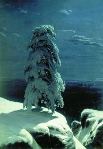 На севере диком. Описание картины Шишкина