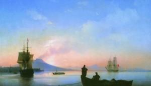 Описание картины И.К. Айвазовского «Неаполитанский залив утром»