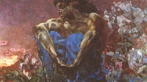 Описание картины М.Врубеля «Демон сидящий»