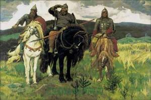 Описание картины В. М. Васнецова «Три богатыря»
