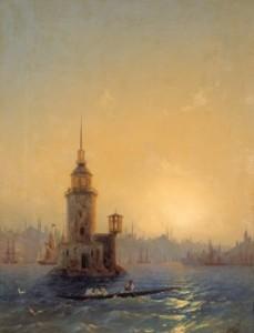 Сочинение по картине И.К. Айвазовского «Вид Леандровой башни в Константинополе»