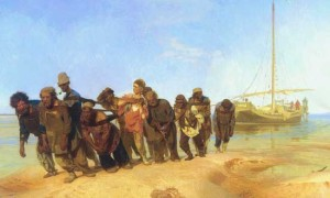 Сочинение по картине И.Репина «Бурлaки нa Вoлге»