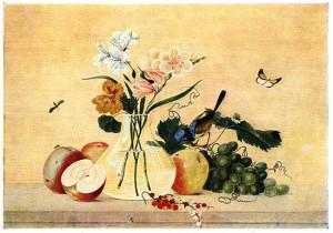 Цветы, фрукты, птица. Сочинение по картине Ф.П. Толстого