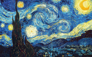 Ван Гога «Звездная ночь»