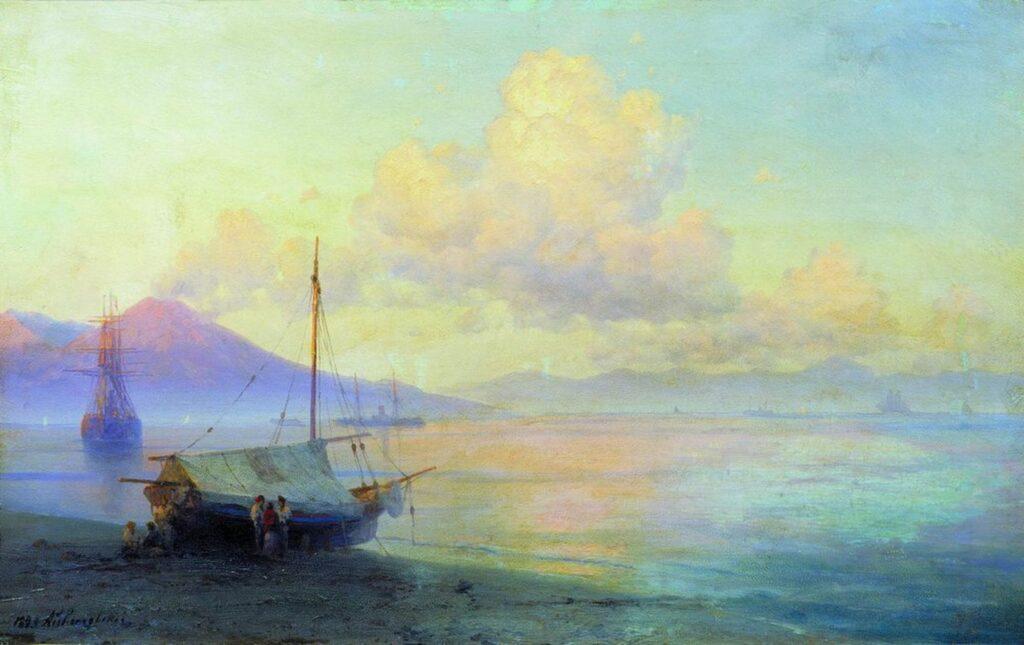 Айвазовский Иван - Неаполитанский залив утром