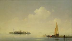 картине Айвазовского И.К. «Венецианская лагуна. Вид на остров Сан-Джорджо»