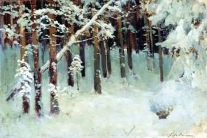«Лес зимой»