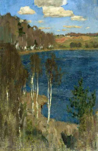 Исаак Левитан. Озеро. Весна.