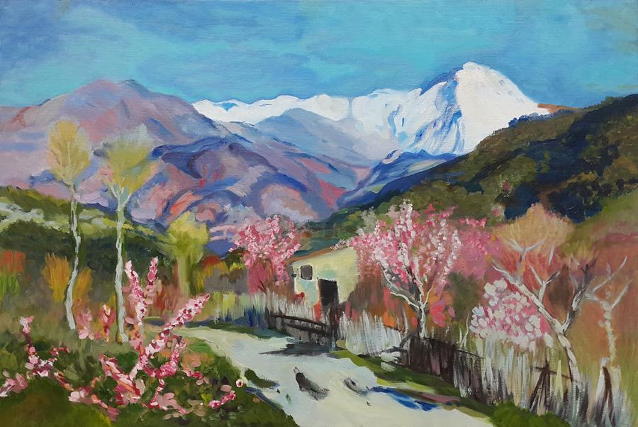 Исаак Левитан. Весна в Италии