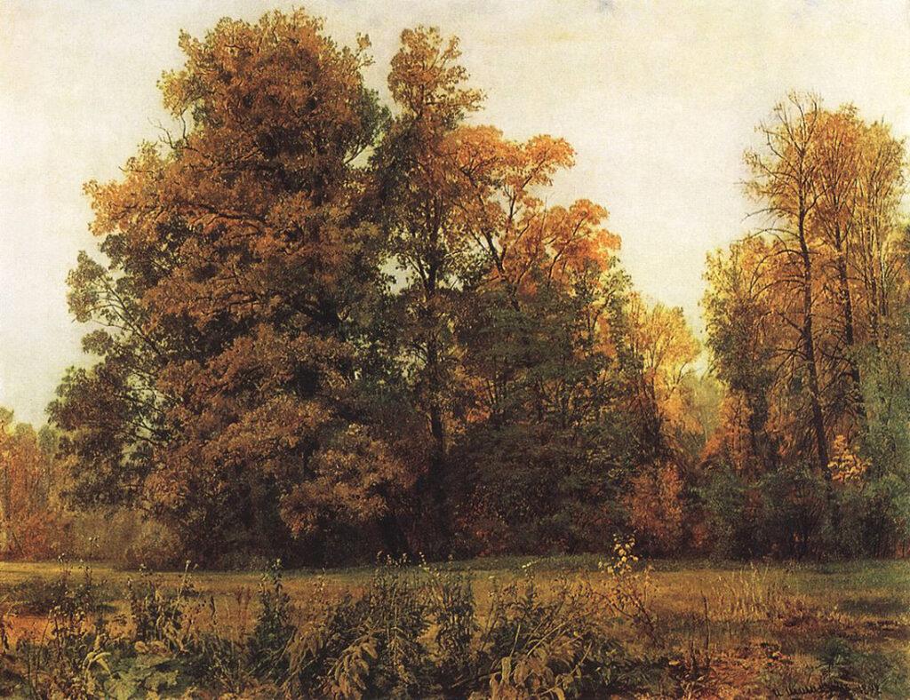 Картина «Осень» И. Шишкина