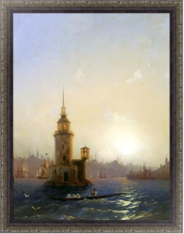 И. К. Айвазовского «Вид Леандровой башни в Константинополе»