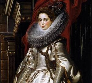 Портрет маркизы Бригитты Спинолы Дориа, Рубенс, 1606