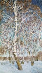 Сочинение по картине «Февральская лазурь Игоря Грабаря»