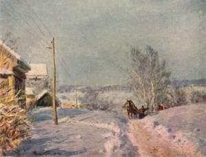 Сочинение по картине «Мороз и солнце Виктора Цыплакова»
