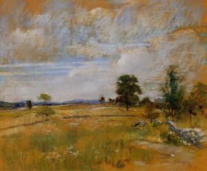 Сочинение по картине «Пейзаж Коннектикута Джона Твочмена»