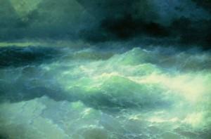 Сочинение по картине «Среди волн Ивана Айвазовского»