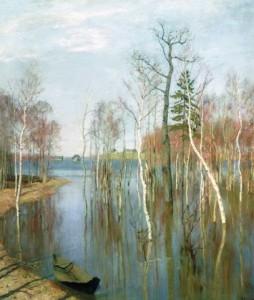 Сочинение по картине «Весна (Большая вода) Исаака Левитана»
