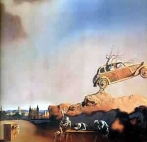 Сочинение по картине «Явление города Дельфта Сальвадора Дали»