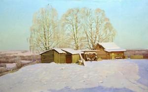 Сочинение по картине «Зима мороз и солнце Николая Анохина»
