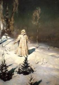 Сочинение по картине В.М. Васнецова «Снегурочка»