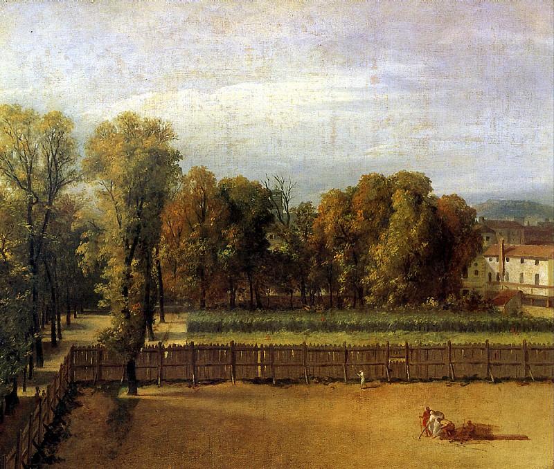 Вид Люксембургского сада