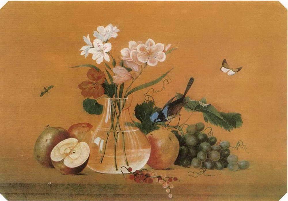 Цветы, фрукты, птица. Сочинение по картине Ф. П. Толстого