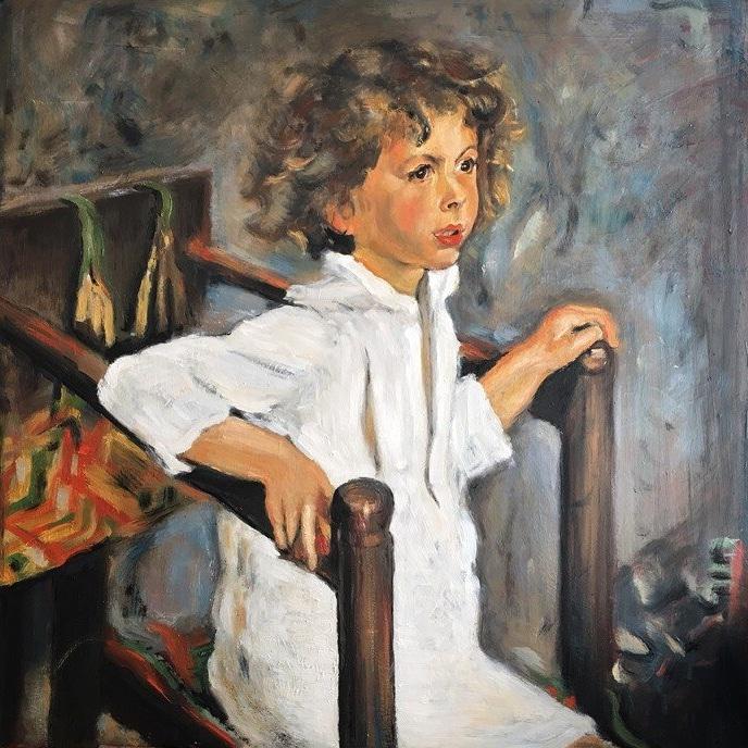 «Портрет Мики Морозова» В. Серова