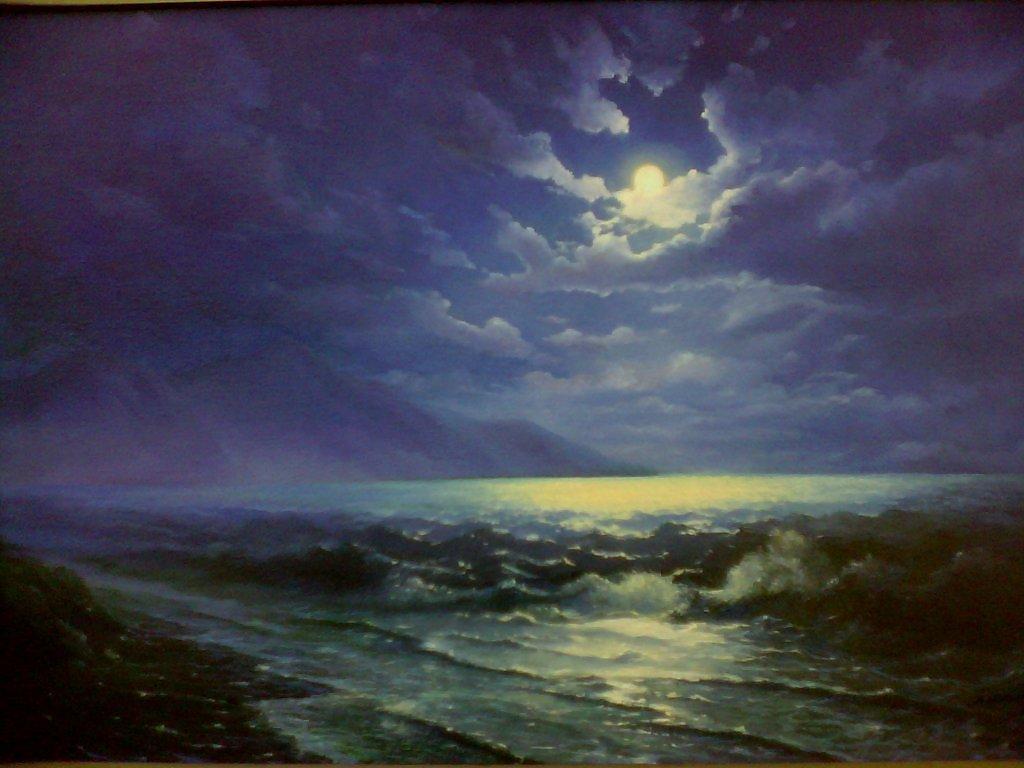 Сочинение по картине «Ночь Голубая волна Ивана Айвазовского»