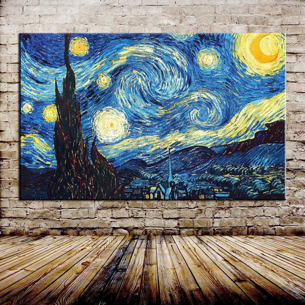 Ван Гог «Звездная ночь»