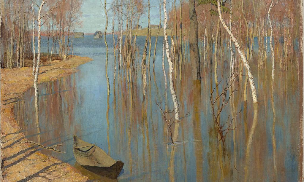 Исаак Левитан. Весна. Большая вода