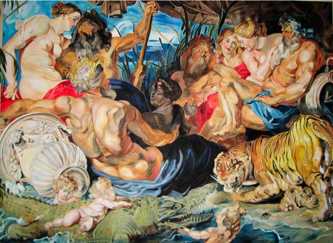 Картина четыре части света - Питер Пауль Рубенс. 1612-1614