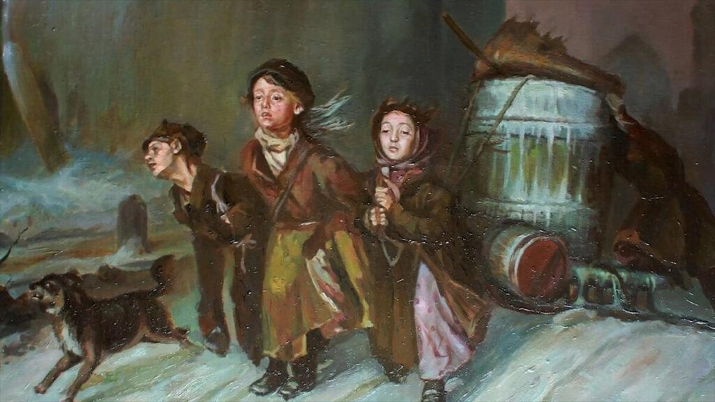 Картина «Тройка» В. Перова