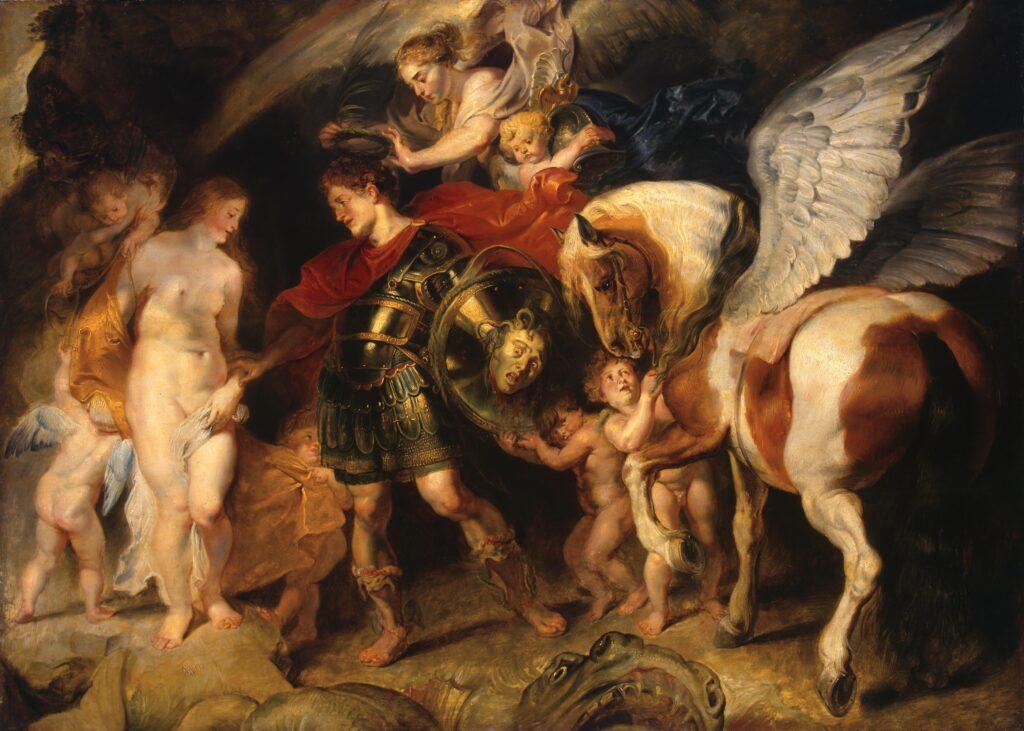 Персей освобождает Андромеду - Рубенс. 1620-1621