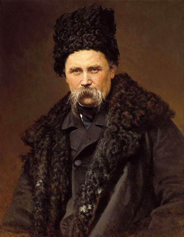 портрет великого украинского поэта Тараса Григорьевича Шевченко