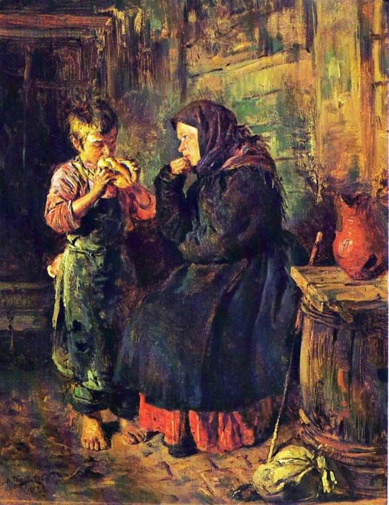 Сочинение по картине В. Маковского «Свидание»