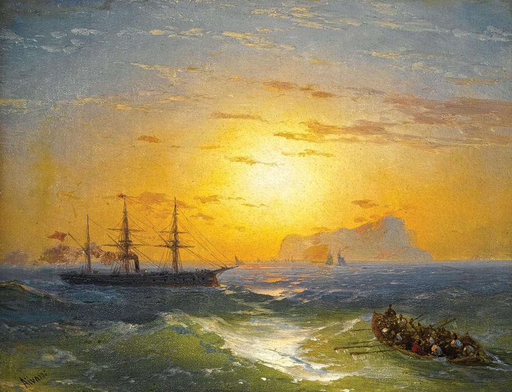 Айвазовский Иван - Морской пейзаж