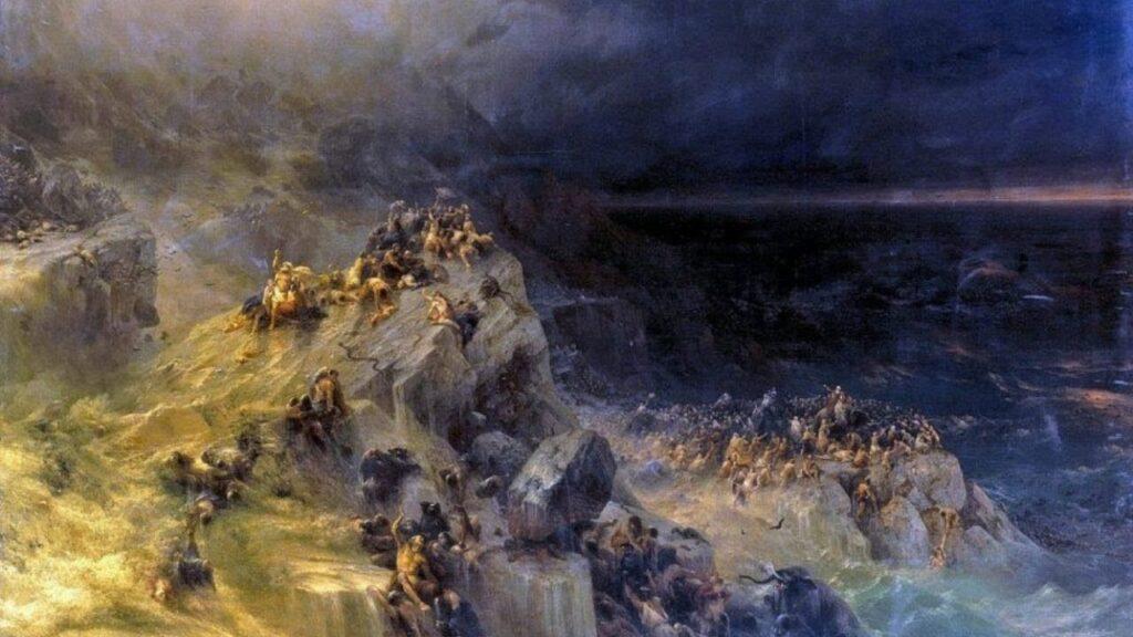 Айвазовский Иван - Всемирный потоп
