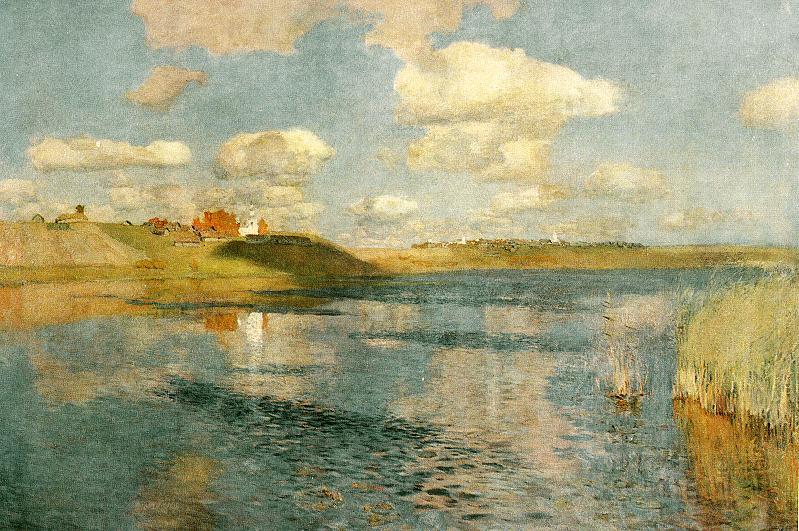 Исаак Левитан. Озеро. Русь